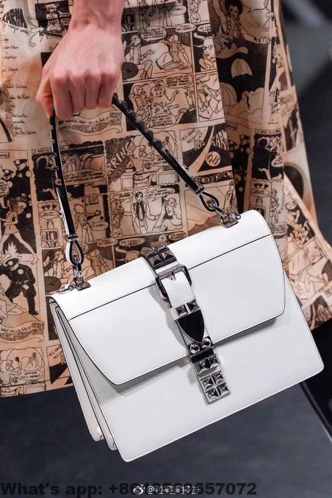 b401ff44 Prada Elektra Leather Shoulder Bag 1BA179 2018 | Prada ...