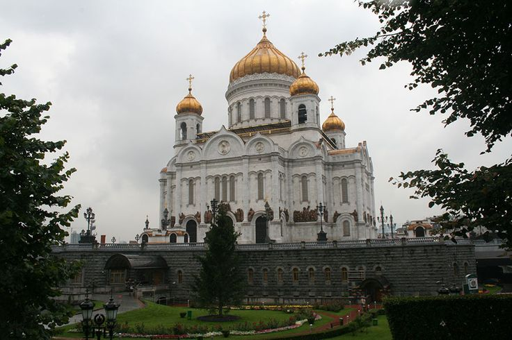 De Christus de Verlosser Kathedraal in Moskou, Rusland | NLtraveler.com
