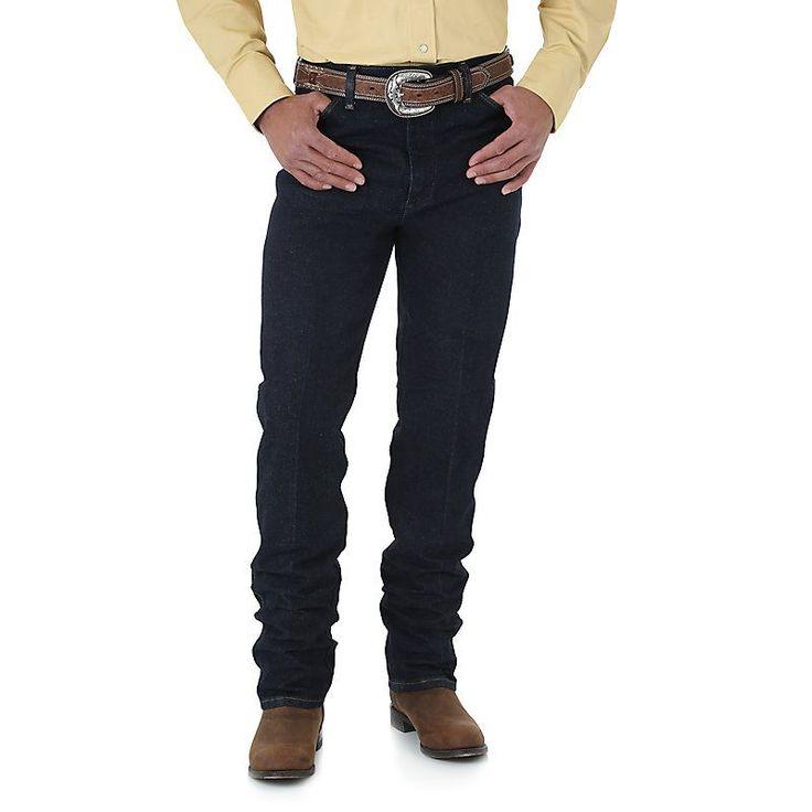Wrangler Men's Cowboy Cut Silver Edition Slim Fit Jeans (Size: 28 x 32) Light Blue