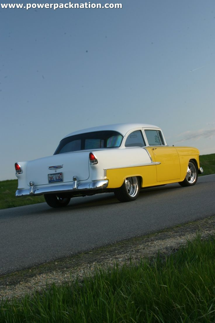 We love the clean lines of the 1955 chevrolet bel air