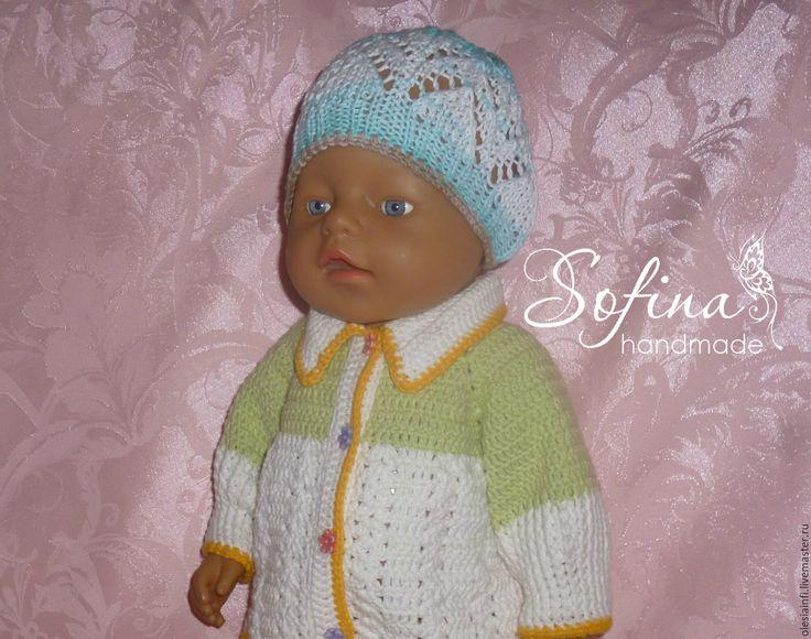 Купить Мастер класс по вязанию шапочки для кукол Беби Бон - комбинированный, шапка, шапочка, МК