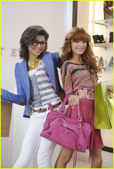 "Halley Brandon and Avalon Green AKA Zendaya and Bella Thorne on ""Frenemies"""