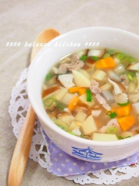 煮るだけ簡単。豚肉ところころ野菜のエスニックスープ by 河埜 玲子 ...