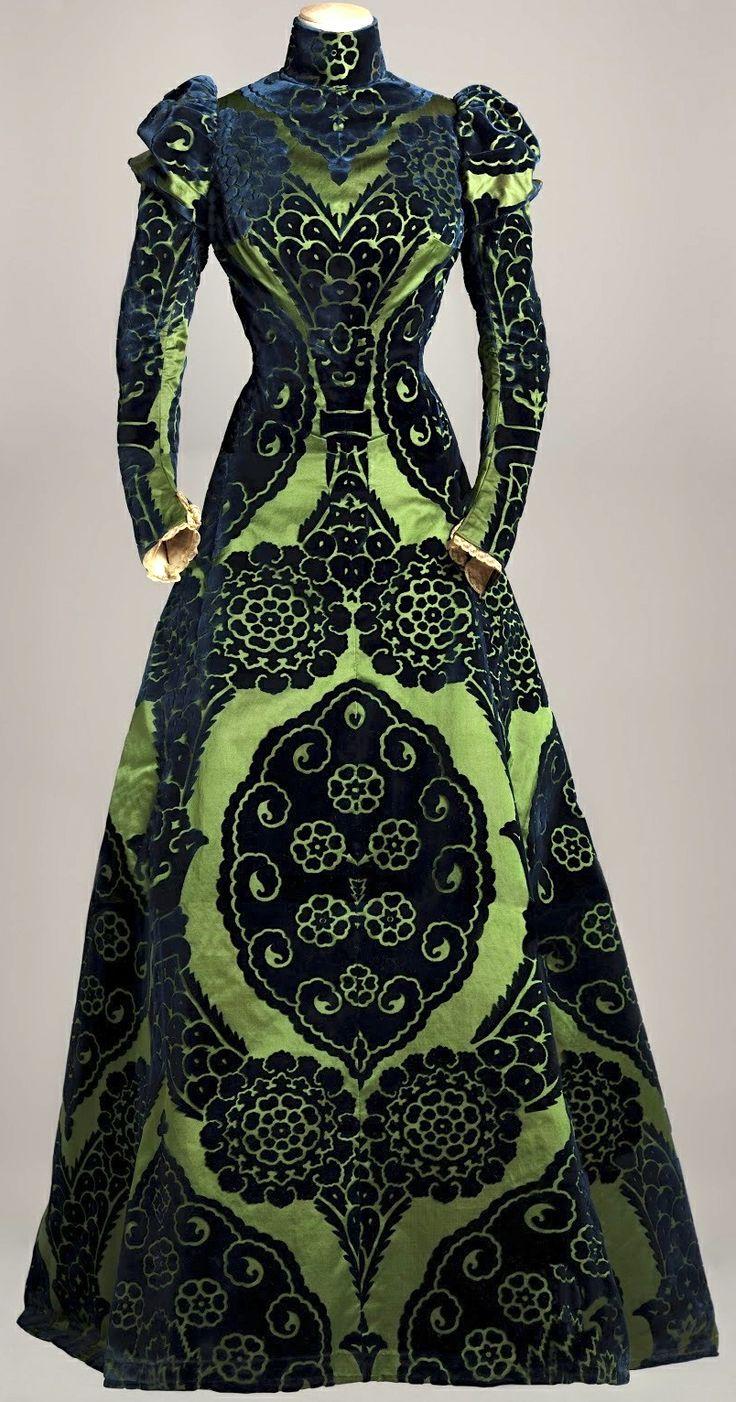 @: Victorian tea gown
