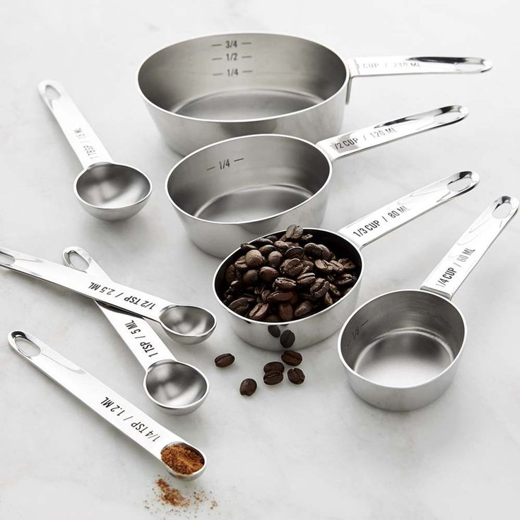 Williams-Sonoma Stainless-Steel Nesting Measuring Cups & Set   Not necessarily these exact ones 2016