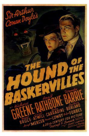 'The Hound of the Baskervilles', 1939, Basil Rathbone