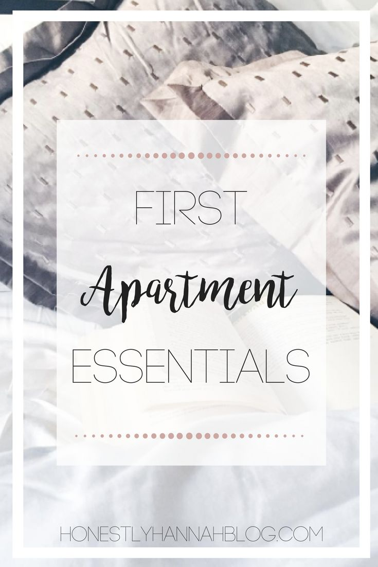 Essentials for creating the perfect space in your new apartment.