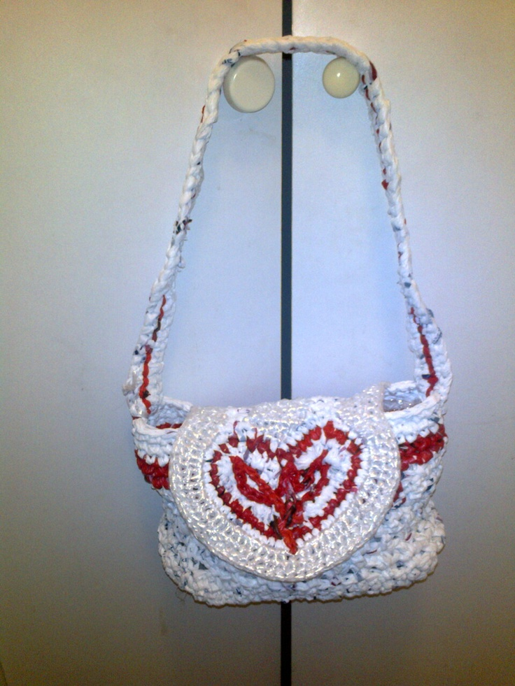 bag with heart design