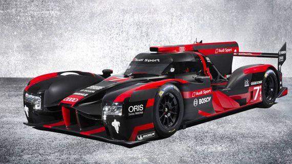 Гибридный спорткар для Ле Ман  Audi R18 e-tron quattro / Ауди R18 е-трон кваттро