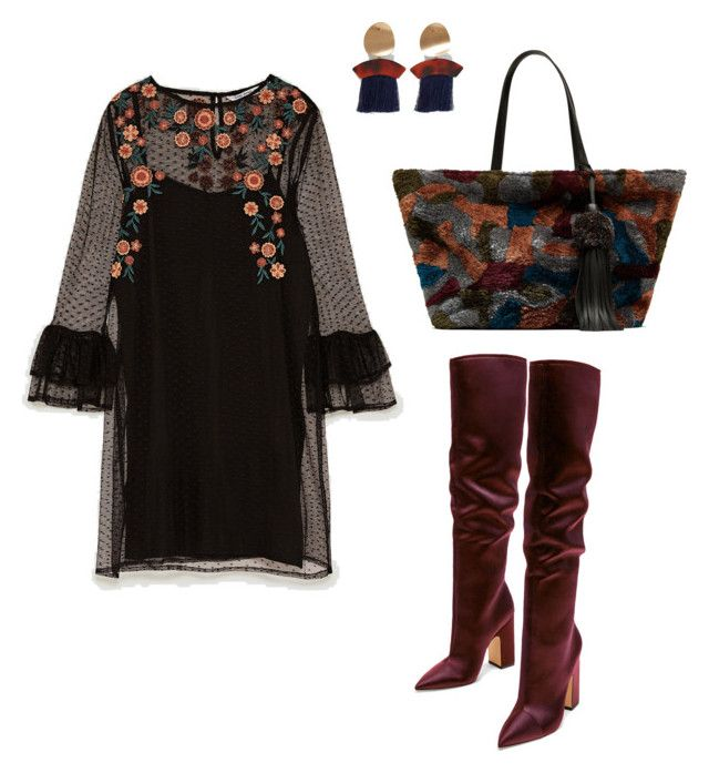 """Zara Floral"" by stephy-style on Polyvore"