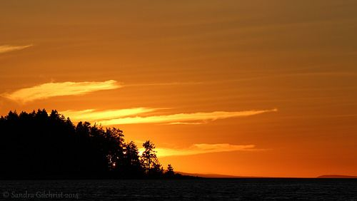 Sunset Madrona Point - Nanoose Bay  #mypqb #pintowin  Visit Parksville Qualicum Beach Pinterest photo contest entry