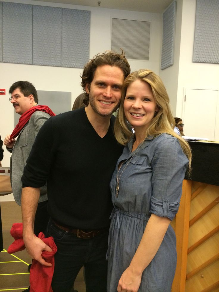 Kelli O'Hara and Steven Pasquale from The Bridges of Madison County.  Opening night is February 20!  Tell us what you thought at BroadwayAudience.com