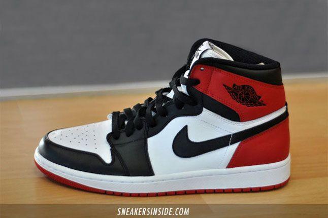 Air Jordan 1 Black Toe #sneakers #jordan