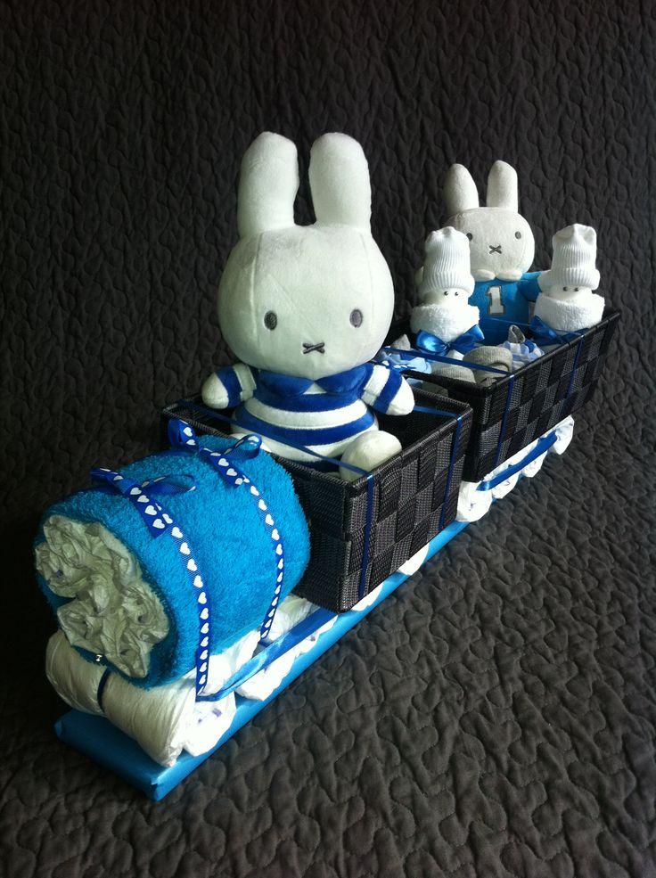 Blauwe Nijntje trein