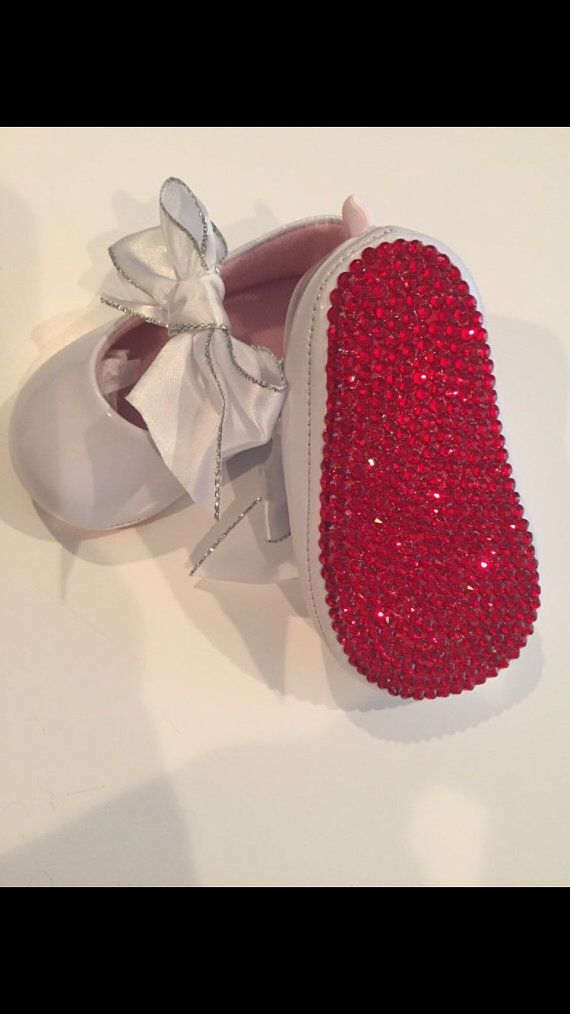 Christian Louboutin Inspired RED BOTTOM Crystal by TheGlamBaby