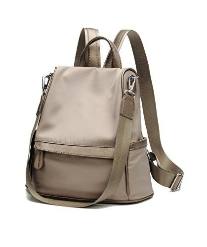 057803f6405 FIGROL Leather Backpack for Women 3 Ways Ladies Fashion Casual backpack  School Bag Travel Bag(White)