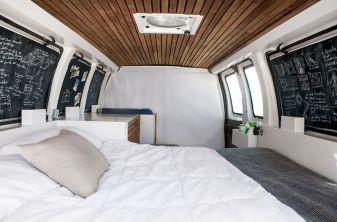 Camper van interior design and organization ideas (2)