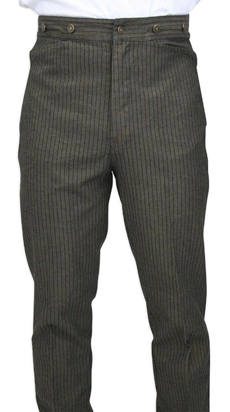 Duke men s strong buckle jeans cargo amp trouser rawhide leather belt - 1920s Style Men S Pants Trousers Plus Four Knickers
