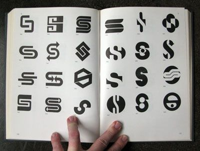 """S"" from Trademarks & Symbols by Yasaburo Kuwayama"