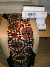 quilten (doorpitten) op de naaimachine, tips