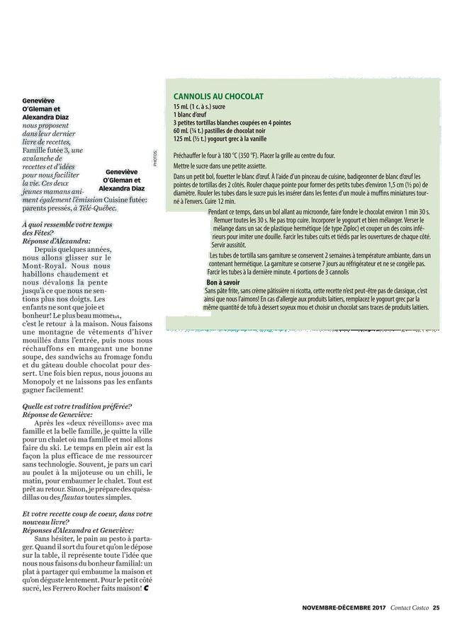 CONTACT COSTCO - Novembre/Decembre 2017 - Page 24-25
