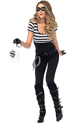 Adult Bank Robber Costume                                                                                                                                                                                 More
