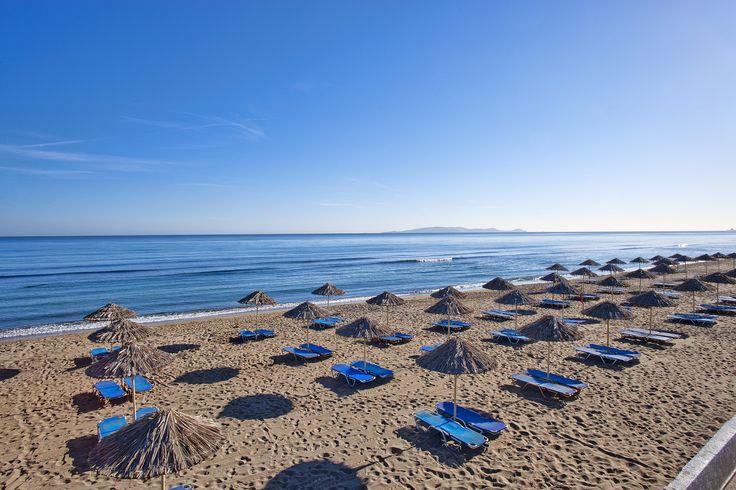 Sunny and #sandy #beach! #CretaBeach #Ammoudara #Crete #Summer