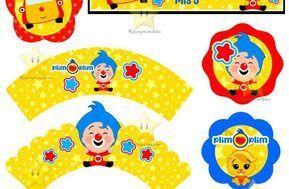 Kit Imprimible El Payaso Plim Plim - Decoraciones, Cajitas e Invitaciones - Kits Imprimibles - Cursos Especiales - Cursos, Manuales y Recetarios por…
