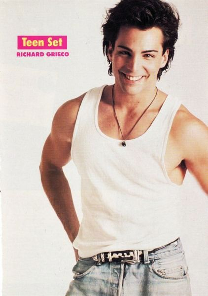 Richard Grieco back when he was sooooo fine