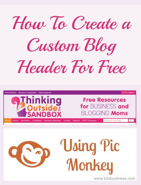 How To Create A Custom Blog Header For Free