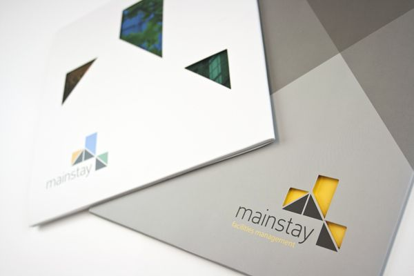 Mainstay Property Brochure with Die-Cut Cover