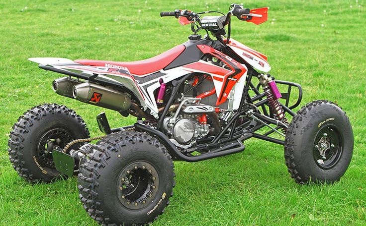 2016 / 2017 Honda CRF450R Engine TRX450R Sport ATV / Race Quad Model Changes & Upgrades - Yamaha 450 / Suzuki 450 / KTM 450 / Kawasaki 450 Competition versus Honda TRX450R 450 cc