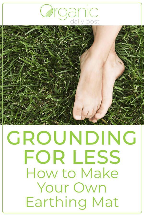 How To Make Your Own Earthing Mat Natural Remedies Diy Herbal Remedies Herbal Remedies