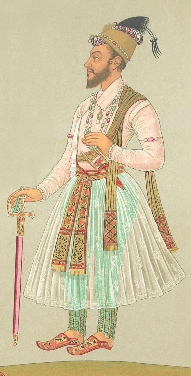 Mughal Emperor Bahadur Shah I (Shah Alam I)