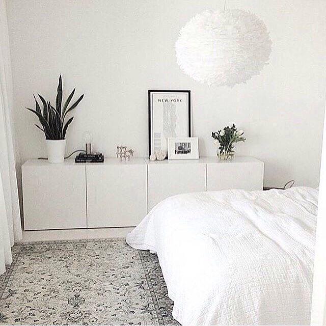 För sovrummets snedtak