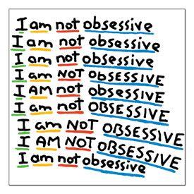 I'm not Obsessive