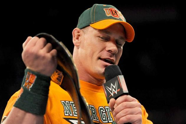 How to Maximize John Cena's Pursuit of Ric Flair's World Title Record