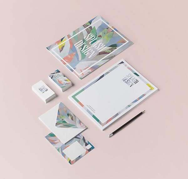 Splash Design | Branding and Identity on Behance