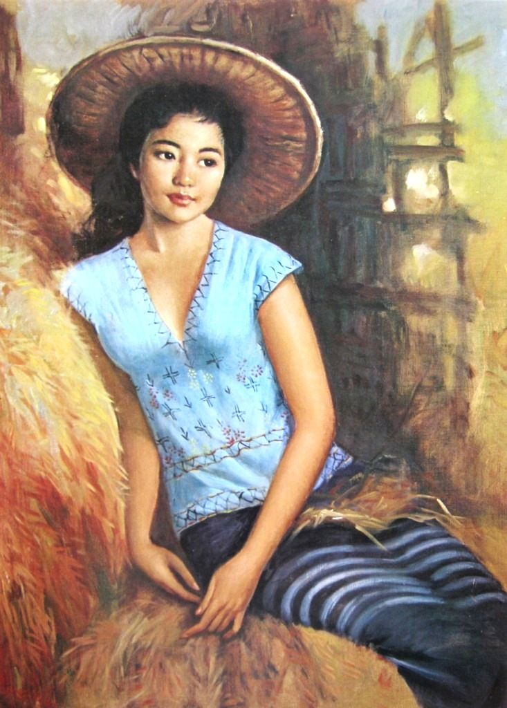 Basoeki Abdullah - Gadis Thailand