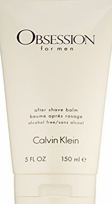 Calvin Klein Obsession After Shave Balm 150 ml Obsession for Men is the pure essence of masculinity. Potent, powerful, and intensely provocative, this scent is a compelling blend of botanicals, spices, and rare woods. (Barcode EAN = 0885286268784) http://www.comparestoreprices.co.uk/december-2016-week-1/calvin-klein-obsession-after-shave-balm-150-ml.asp