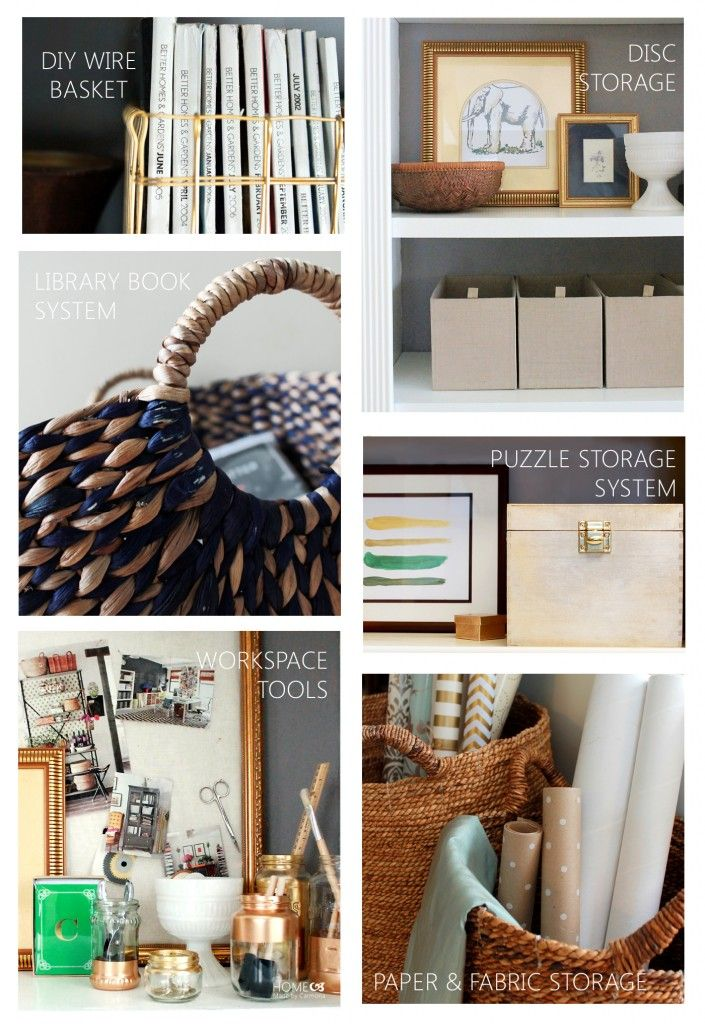 Organizing solutions and tips for the whole home