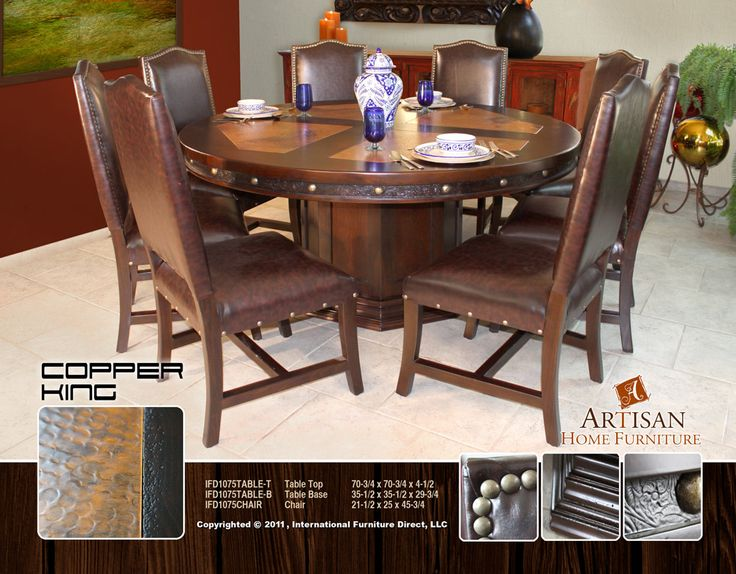 17 best images about hideout vacation house ideas on dining table copper covered dining table