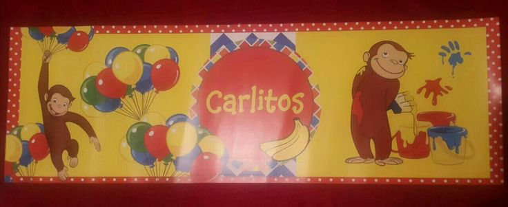 Curious George Banner, Birthday party