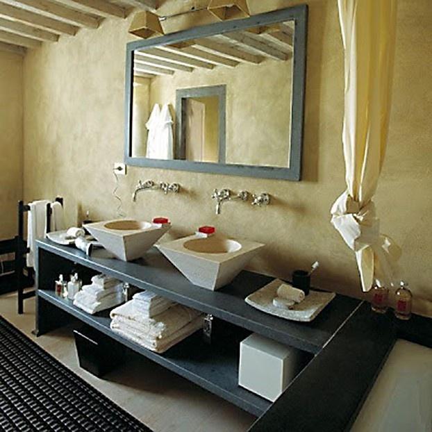 Una proposta per un bagno originale: minimal ma con un tocco di ironia. Design by Ilaria Miani. http://www.leonardo.tv/bagno/mobili-per-bagno-ilaria-miani