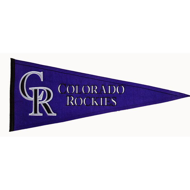 Colorado Rockies Traditions Pennant (13x32)