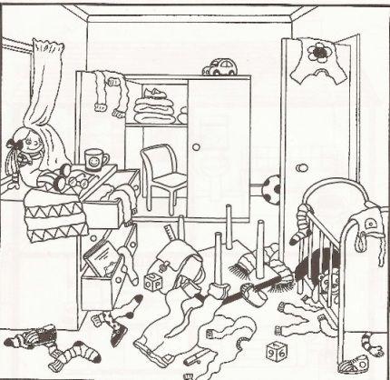 untidy room cartoon - Google Search | AJZAAL | Pinterest ...