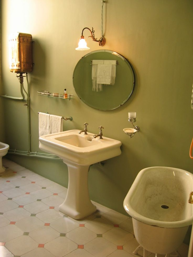 Bathroom Lighting Vintage 14 best vintage bathroom light and mirror images on pinterest