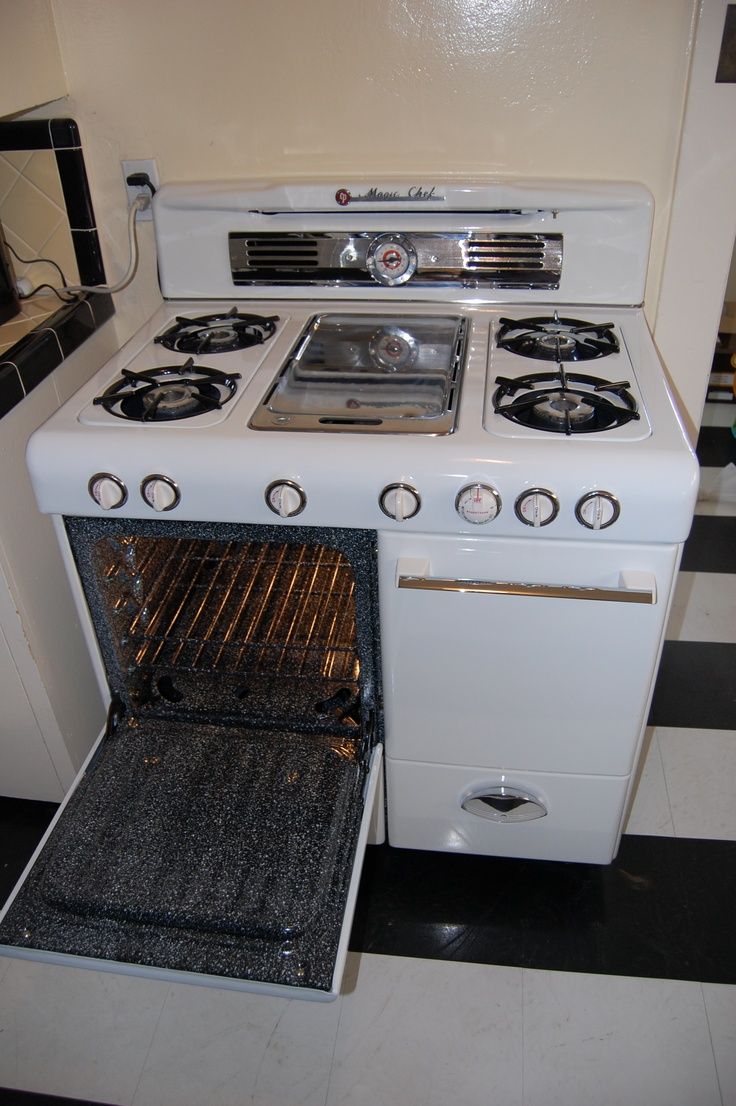 22 Best Images About Restored Vintage Gas Ranges On