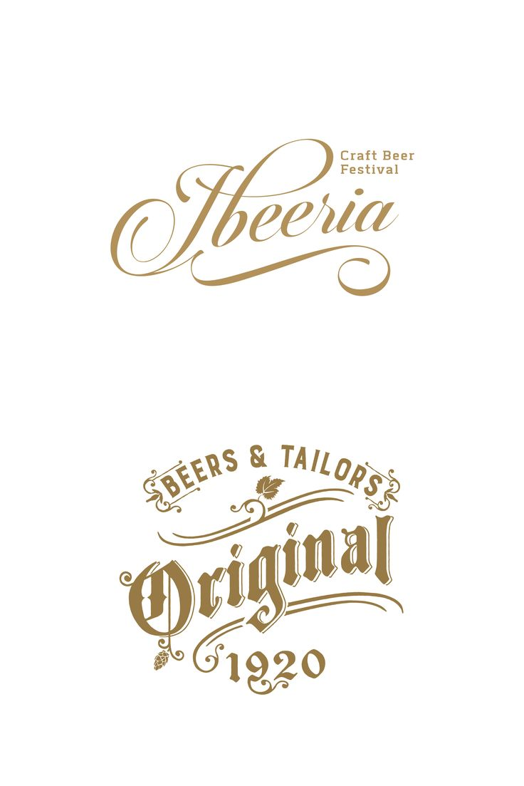 Brand identity for a craft beer festival & logo design for a craft beer consultants and distributions company.