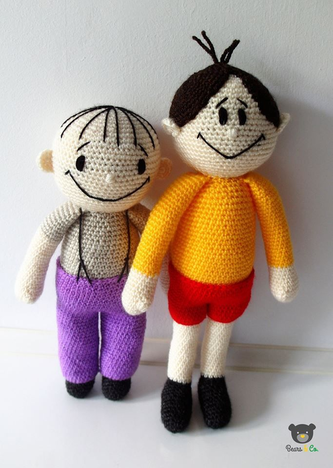 Bolek and Lolek crochet ( by Bears&Co. )